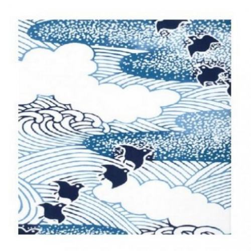 Japanese Tenugui - Flock of Birds (no.1015)