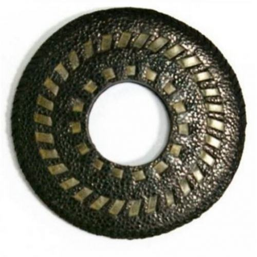 Tsuba - Japanese - Black Leather