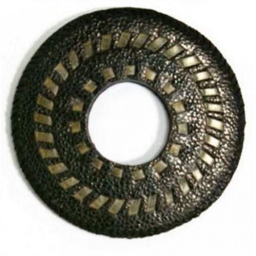 Tsuba - Japanese - Black Leather