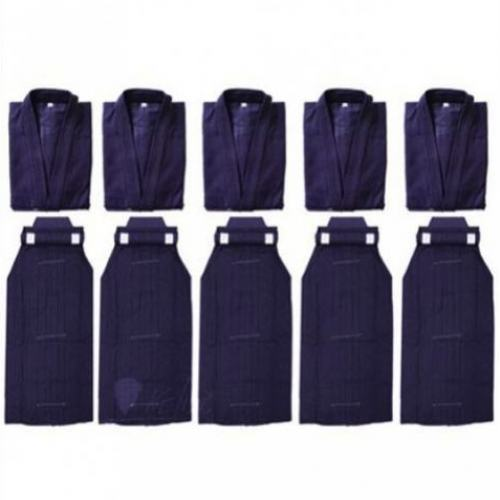 Kendo Uniform PKG - Standard - Navy 5 Set