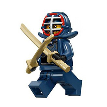 Minifigure - Kendo Fighter