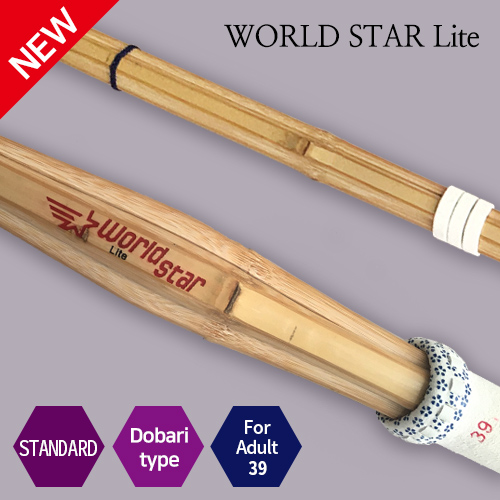 [SHINAI] WORLD STAR Lite<br>(Doabari type&Thick Grip)