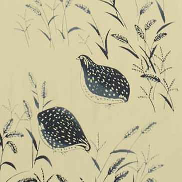 Japanese Tenugui - Quails (no.417)