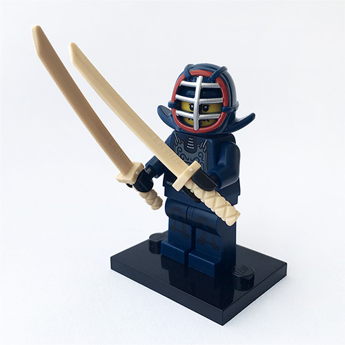 [LEGO] Minifigure - Kendo Fighter