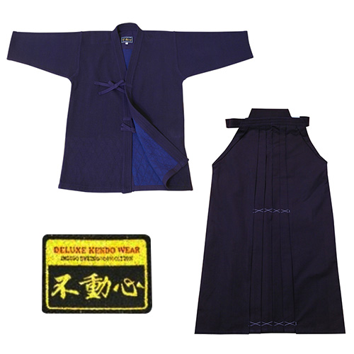 Kendo Uniform Set - Budongsim - Indigo Double Layer